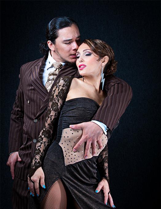 Miriam Larici and Leonardo Barrionuevo